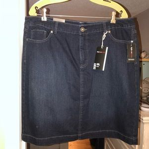 NWT Jean skirt!